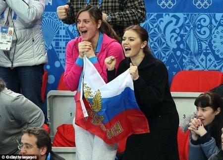 Визитная карточка России: «любимицы» в мире спорта