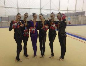 Украина заняла призовое место на чемпионате по художественной гимнастике