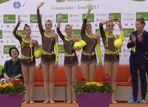 Киев примет чемпионат Европы по художественной гимнастике