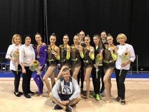 Украинские гимнастки стали вторыми на этапе Кубка мира в Берлине